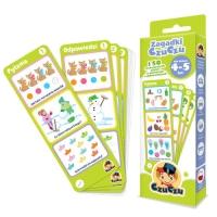 Zagadki CzuCzu dla dzieci od 4-5 lat - praca zbiorwa | mała okładka