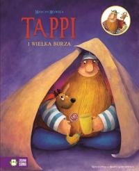 Tappi i przyjaciele. Część 5. Tappi i wielka burza - Marcin Mortka   mała okładka
