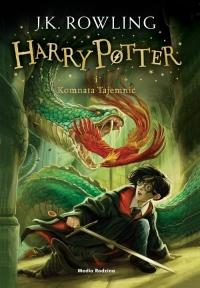 Harry Potter i Komnata Tajemnic - Joanne K. Rowling    mała okładka