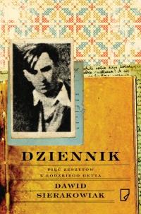 Dziennik Pięć zeszytów z łódzkiego getta - Dawid Sierakowiak | mała okładka