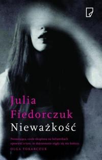 Nieważkość - Julia Fiedorczuk   mała okładka
