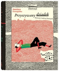 Przyszywany dziadek - Stanisława Domagalska | mała okładka