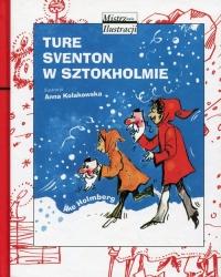Ture Sventon w Sztokholmie - Ake Holmberg | mała okładka
