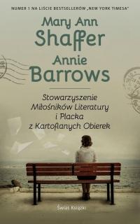 Stowarzyszenie Miłośników Literatury i Placka z Kartoflanych Obierek - Shaffer Mary Ann, Barrows Annie | mała okładka