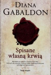 Spisane własną krwią - Diana Gabaldon   mała okładka