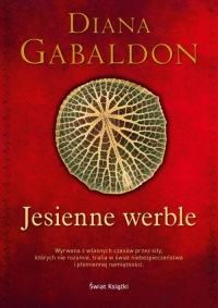 Jesienne werble - Diana Gabaldon | mała okładka