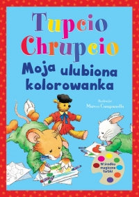 Tupcio Chrupcio. Moja ulubiona kolorowanka -  | mała okładka