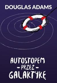 Autostopem przez Galaktykę - Douglas Adams | mała okładka