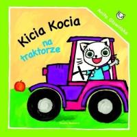 Kicia Kocia na traktorze - Anita Głowińska | mała okładka
