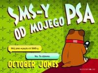 SMS-y od mojego Psa - Jones October   mała okładka