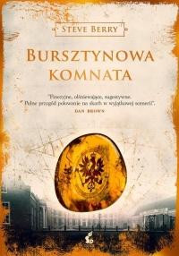 Bursztynowa Komnata - Steve Berry   mała okładka