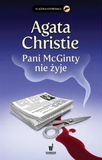 Pani McGinty nie żyje - Agata Christie | mała okładka