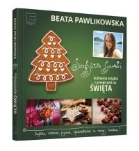 Szczęśliwe garnki. Kulinarne przepisy na święta - v Pawlikowska | mała okładka