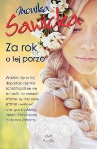 Za rok o tej porze - Monika Sawicka | mała okładka