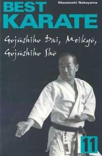Best Karate 11 Gojushiho Dai, Meikyo, Gojushiho Sho - Masatoshi Nakayama | mała okładka