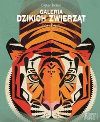 Galeria dzikich zwierząt Południe - Dieter Braun | mała okładka