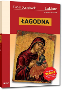 Łagodna Lektura z opracowaniem - Fiodor Dostojewski | mała okładka
