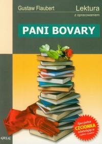 Pani Bovary lektura z opracowaniem - Gustaw Flaubert | mała okładka