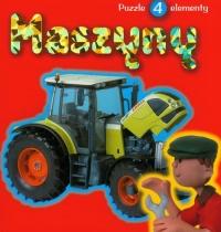 Maszyny Książka z Puzzlami -  | mała okładka