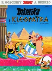 Asteriks i Kleopatra 5 - Rene Goscinny | mała okładka