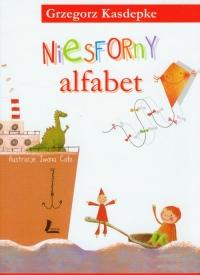 Niesforny alfabet - Grzegorz Kasdepke | mała okładka