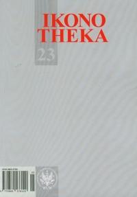 Ikonotheka 23/2012 - zbiorowa Praca   mała okładka