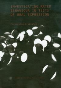 Investigating Rater Behaviour in Tests of Oral Expression - Przemysław Krakowian | mała okładka