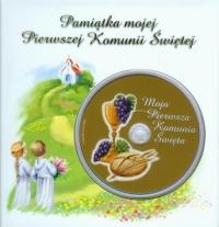 Pamiątka mojej Pierwszej Komunii Świętej z płytą DVD płyta do nagrania zdjęć lub filmów z Twojej uroczystości -  | mała okładka