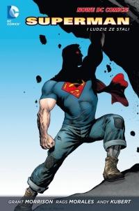 Superman 1 Superman i Ludzie ze stali - Grant Morrison | mała okładka
