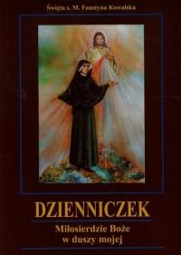 Dzienniczek Miłosierdzie Boże w duszy mojej - Faustyna Kowalska   mała okładka