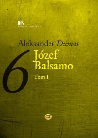 Józef Balsamo Tom 1 - Aleksander Dumas | mała okładka
