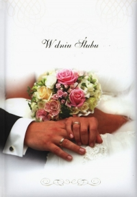 W dniu ślubu -    mała okładka