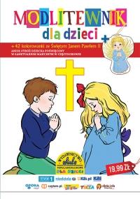 Modlitewnik dla dzieci 42 kolorowanki ze Świętym Janem Pawłem II - Zbiorowa Praca | mała okładka