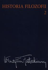 Historia filozofii Tom 2 Filozofia nowożytna do roku 1830 - Władysław Tatarkiewicz | mała okładka