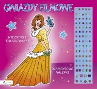 Gwiazdy filmowe Niezwykłe kolorowanki Diamentowe nalepki -  | mała okładka