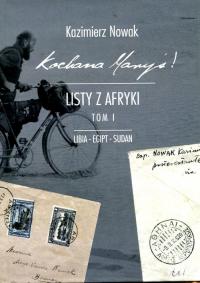 Kochana Maryś Listy z Afryki Tom 1 Libia Egipt Sudan - Kazimierz Nowak | mała okładka