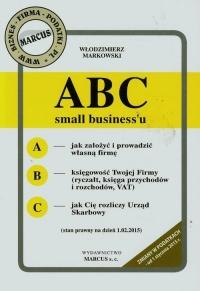ABC small business'u - Włodzimierz Markowski | mała okładka