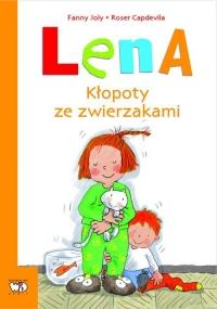 Lena Kłopoty ze zwierzakami - Fanny Joly   mała okładka