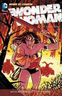 Wonder Woman Tom 3 Żelazo - Brian Azzarello | mała okładka