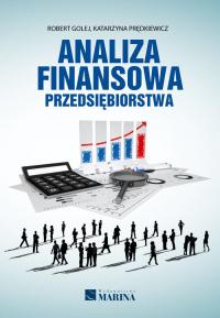 Analiza finansowa przedsiębiorstwa - Golej Robert, Prędkiewicz Katarzyna   mała okładka