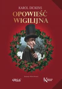 Opowieść wigilijna - Karol Dickens | mała okładka