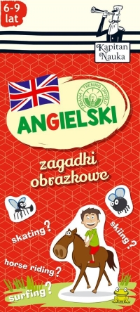 Zagadki obrazkowe Angielski 6-9 lat -  | mała okładka