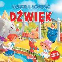 Nauka i zabawa Dźwięk - Agnieszka Nożyńska-Demianiuk | mała okładka