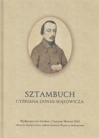 Sztambuch Cypriana Dunin-Wąsowicza -    mała okładka