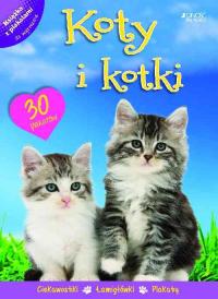 Koty i kotki Książka z plakatami - zbiorowa Praca | mała okładka