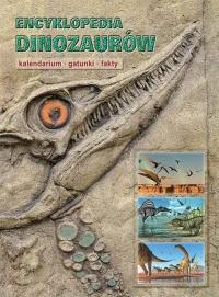 Encyklopedia dinozaurów Kalendarium gatunki fakty - Dougal Dixon | mała okładka