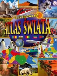 Ilustrowany atlas świata -    mała okładka