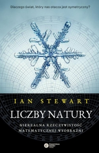 Liczby natury Nierealna rzeczywistość matematycznej wyobraźni - Ian Stewart   mała okładka