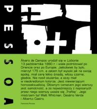 Poezje zebrane Alvaro de Campos - Fernando Pessoa | mała okładka