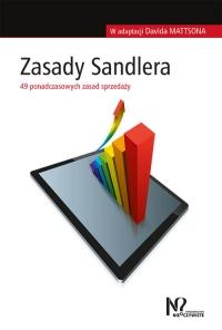 Zasady Sandlera 49 ponadczasowych zasad sprzedaży - David Mattson | mała okładka